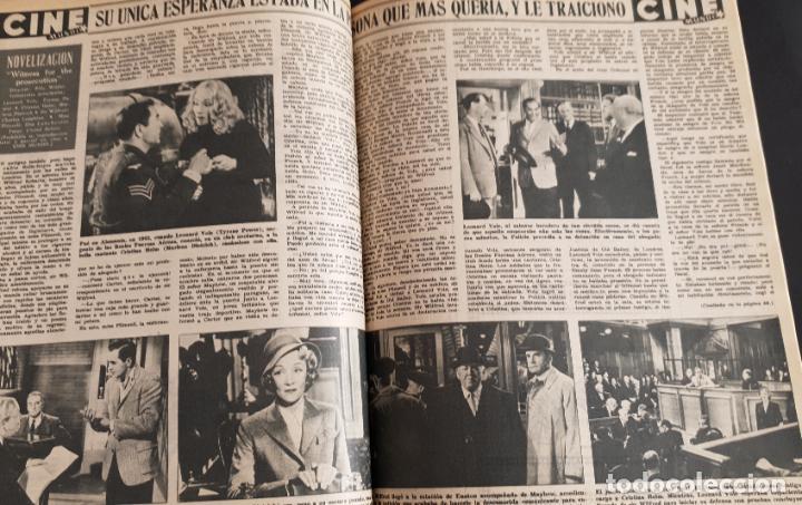 Cine: REVISTA CINE MUNDO 1958 MIOSHI UMERI JOSELITO SOPHIA LOREN LOS VIKINGOS TAB HUNTER MARLENE DIETRICH - Foto 7 - 194896830