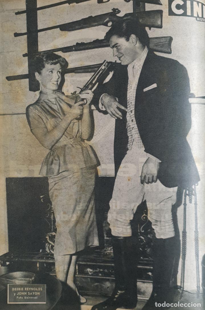 Cine: REVISTA CINE MUNDO 1958 MIOSHI UMERI JOSELITO SOPHIA LOREN LOS VIKINGOS TAB HUNTER MARLENE DIETRICH - Foto 8 - 194896830
