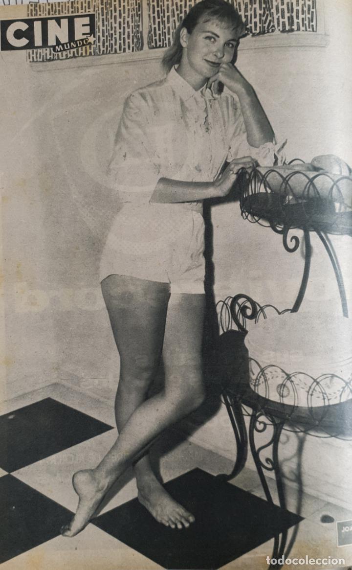 Cine: REVISTA CINE MUNDO 1958 JOAN COLLINS GINA LOLLOBRIGIDA LOS VIKINGOS JOANNE WOODWARD - Foto 3 - 194897136