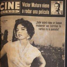Cine: REVISTA CINE MUNDO 1958 JOAN COLLINS LOLA FLORES AVA GARDNER MARILYN MONROE MITZI GAYNOR. Lote 194897713