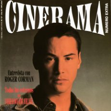 Cine: CINERAMA Nº 27 - 1994 (SPEED/ RITA HAYWORTH/ R. CORMAN/ TRUFFAUT/ ORSON WELLES/ GUERRA DE LOS MUNDOS. Lote 194899522