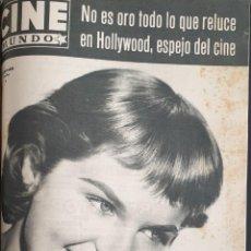 Cine: REVISTA CINE MUNDO 1958 DIANE VARSI ELVIS PRESLEY SOPHIA LOREN BRIGITTE BARDOT MARLENE DIETRICH . Lote 194912552