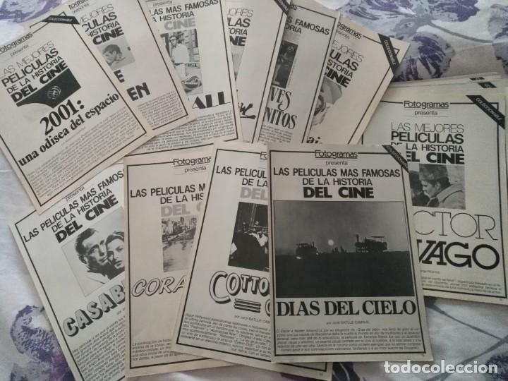 REVISTA DE CINE FOTOGRAMAS COLECCIONABLES 59 FASCICULOS LAS MEJORES PELICULAS-LAS PELI. MAS FAMOSAS (Cine - Revistas - Fotogramas)