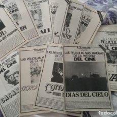Cine: REVISTA DE CINE FOTOGRAMAS COLECCIONABLES 59 FASCICULOS LAS MEJORES PELICULAS-LAS PELI. MAS FAMOSAS. Lote 194956412