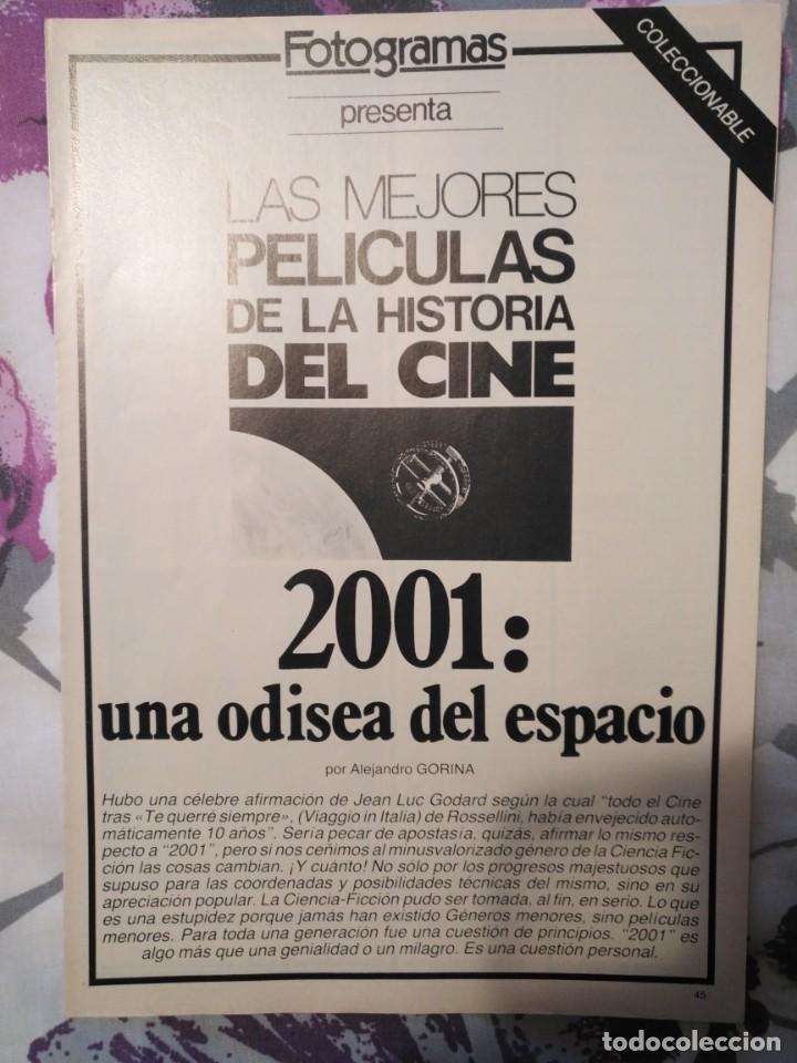 Cine: REVISTA DE CINE FOTOGRAMAS COLECCIONABLES 59 FASCICULOS LAS MEJORES PELICULAS-LAS PELI. MAS FAMOSAS - Foto 2 - 194956412