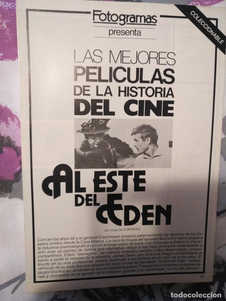 Cine: REVISTA DE CINE FOTOGRAMAS COLECCIONABLES 59 FASCICULOS LAS MEJORES PELICULAS-LAS PELI. MAS FAMOSAS - Foto 3 - 194956412