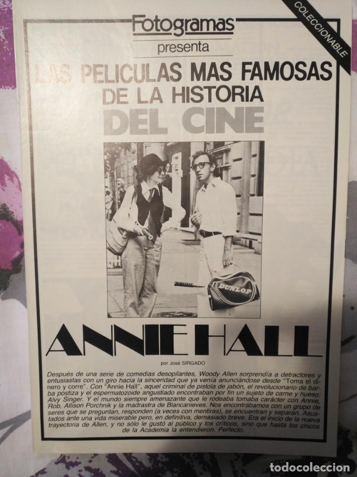 Cine: REVISTA DE CINE FOTOGRAMAS COLECCIONABLES 59 FASCICULOS LAS MEJORES PELICULAS-LAS PELI. MAS FAMOSAS - Foto 4 - 194956412