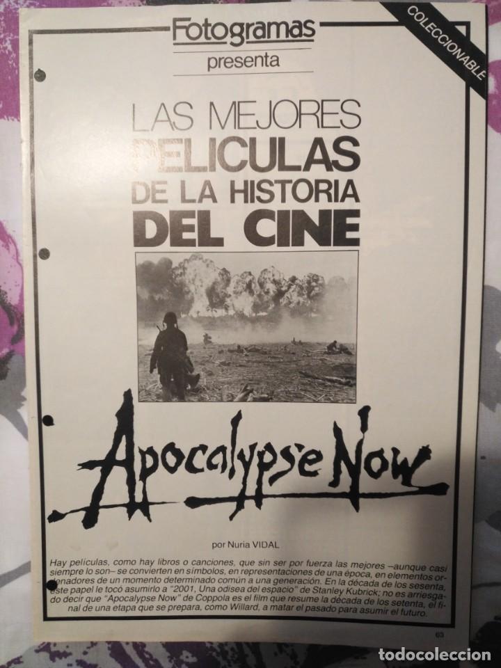 Cine: REVISTA DE CINE FOTOGRAMAS COLECCIONABLES 59 FASCICULOS LAS MEJORES PELICULAS-LAS PELI. MAS FAMOSAS - Foto 5 - 194956412