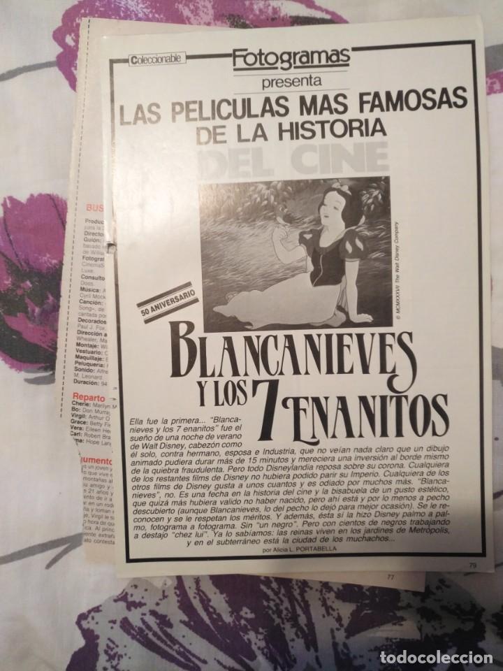Cine: REVISTA DE CINE FOTOGRAMAS COLECCIONABLES 59 FASCICULOS LAS MEJORES PELICULAS-LAS PELI. MAS FAMOSAS - Foto 6 - 194956412