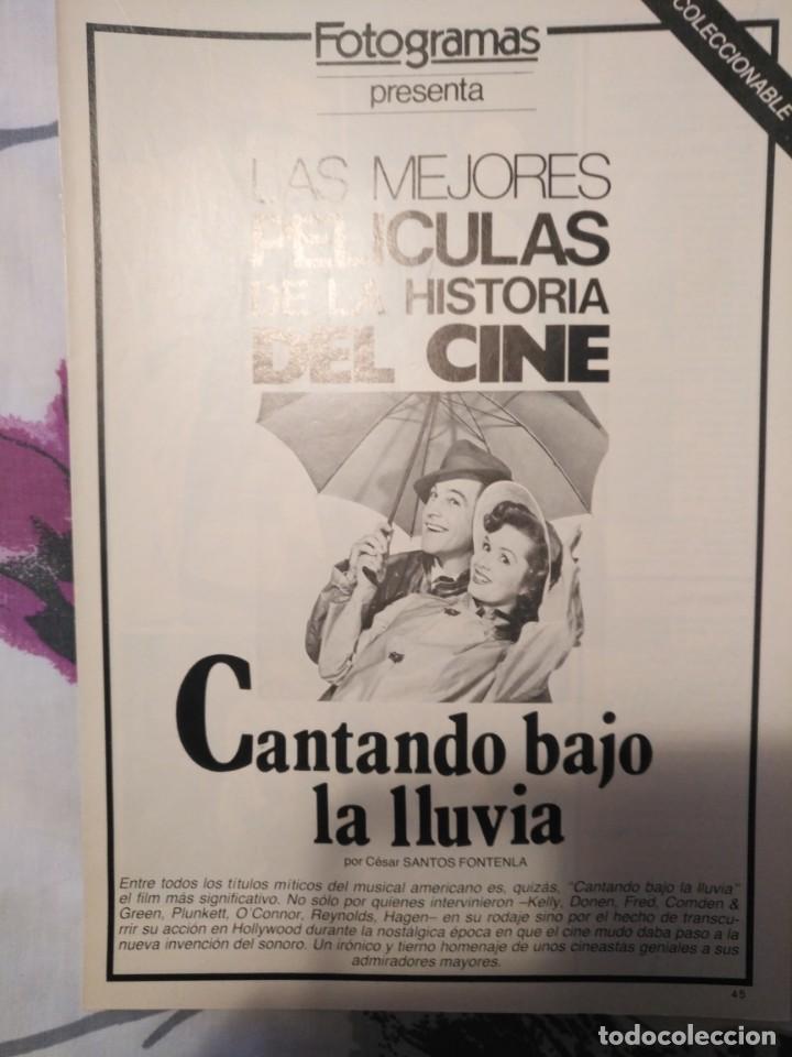 Cine: REVISTA DE CINE FOTOGRAMAS COLECCIONABLES 59 FASCICULOS LAS MEJORES PELICULAS-LAS PELI. MAS FAMOSAS - Foto 7 - 194956412