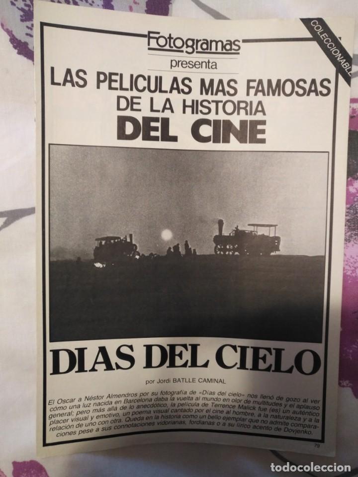 Cine: REVISTA DE CINE FOTOGRAMAS COLECCIONABLES 59 FASCICULOS LAS MEJORES PELICULAS-LAS PELI. MAS FAMOSAS - Foto 8 - 194956412