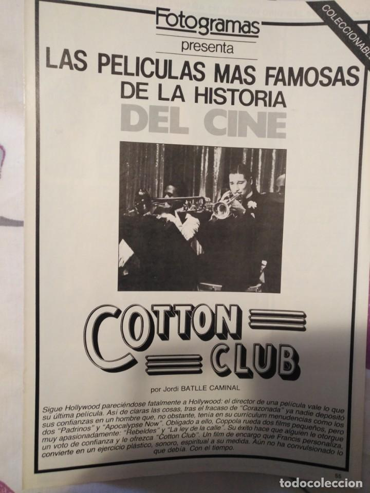Cine: REVISTA DE CINE FOTOGRAMAS COLECCIONABLES 59 FASCICULOS LAS MEJORES PELICULAS-LAS PELI. MAS FAMOSAS - Foto 9 - 194956412