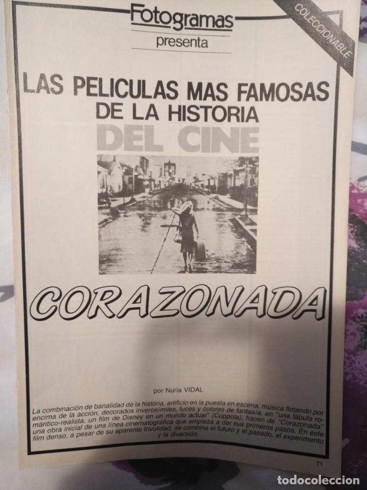 Cine: REVISTA DE CINE FOTOGRAMAS COLECCIONABLES 59 FASCICULOS LAS MEJORES PELICULAS-LAS PELI. MAS FAMOSAS - Foto 10 - 194956412