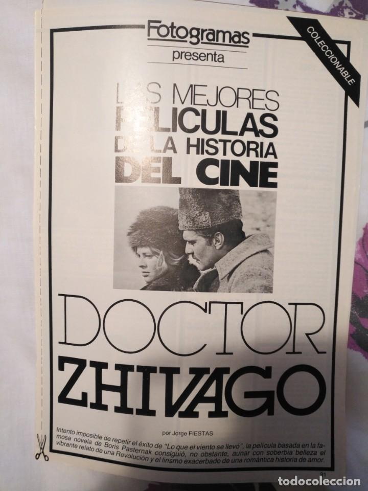 Cine: REVISTA DE CINE FOTOGRAMAS COLECCIONABLES 59 FASCICULOS LAS MEJORES PELICULAS-LAS PELI. MAS FAMOSAS - Foto 12 - 194956412