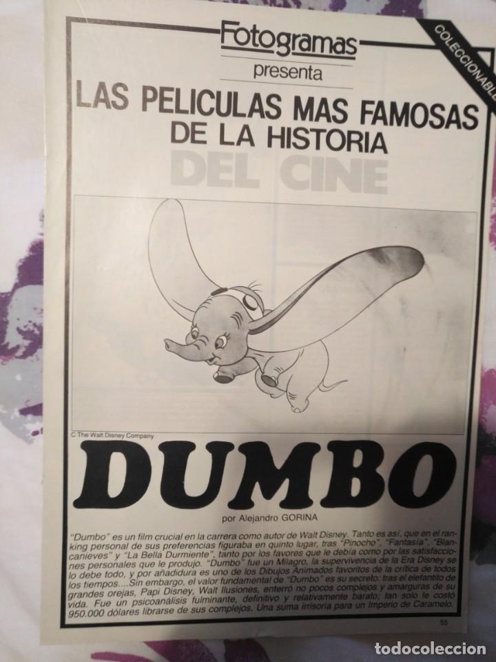 Cine: REVISTA DE CINE FOTOGRAMAS COLECCIONABLES 59 FASCICULOS LAS MEJORES PELICULAS-LAS PELI. MAS FAMOSAS - Foto 14 - 194956412