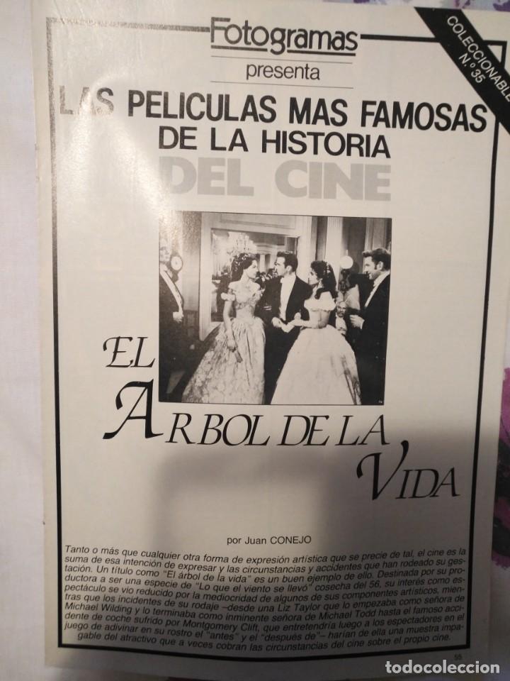 Cine: REVISTA DE CINE FOTOGRAMAS COLECCIONABLES 59 FASCICULOS LAS MEJORES PELICULAS-LAS PELI. MAS FAMOSAS - Foto 15 - 194956412