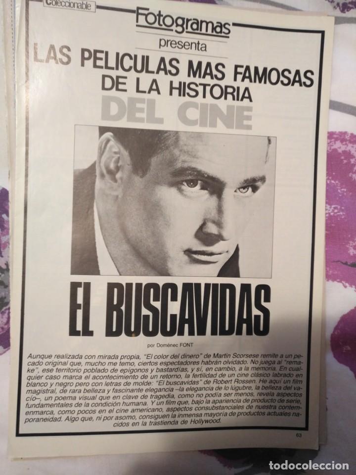 Cine: REVISTA DE CINE FOTOGRAMAS COLECCIONABLES 59 FASCICULOS LAS MEJORES PELICULAS-LAS PELI. MAS FAMOSAS - Foto 16 - 194956412