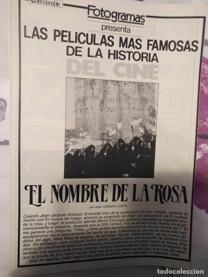 Cine: REVISTA DE CINE FOTOGRAMAS COLECCIONABLES 59 FASCICULOS LAS MEJORES PELICULAS-LAS PELI. MAS FAMOSAS - Foto 17 - 194956412