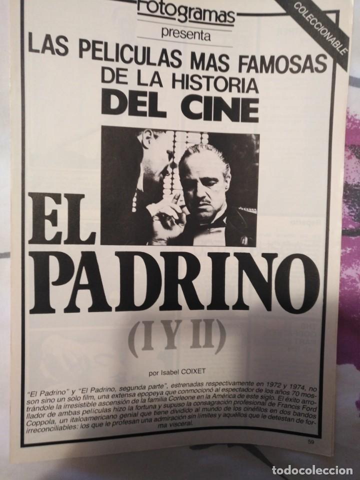 Cine: REVISTA DE CINE FOTOGRAMAS COLECCIONABLES 59 FASCICULOS LAS MEJORES PELICULAS-LAS PELI. MAS FAMOSAS - Foto 18 - 194956412
