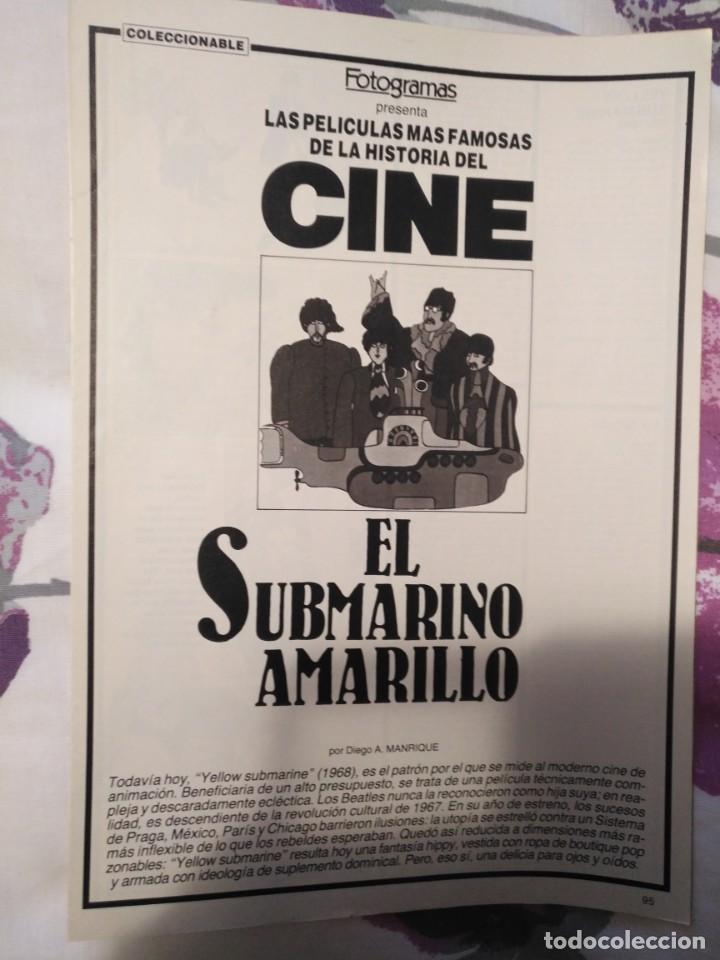 Cine: REVISTA DE CINE FOTOGRAMAS COLECCIONABLES 59 FASCICULOS LAS MEJORES PELICULAS-LAS PELI. MAS FAMOSAS - Foto 19 - 194956412