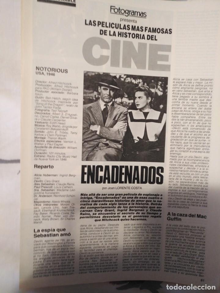 Cine: REVISTA DE CINE FOTOGRAMAS COLECCIONABLES 59 FASCICULOS LAS MEJORES PELICULAS-LAS PELI. MAS FAMOSAS - Foto 20 - 194956412