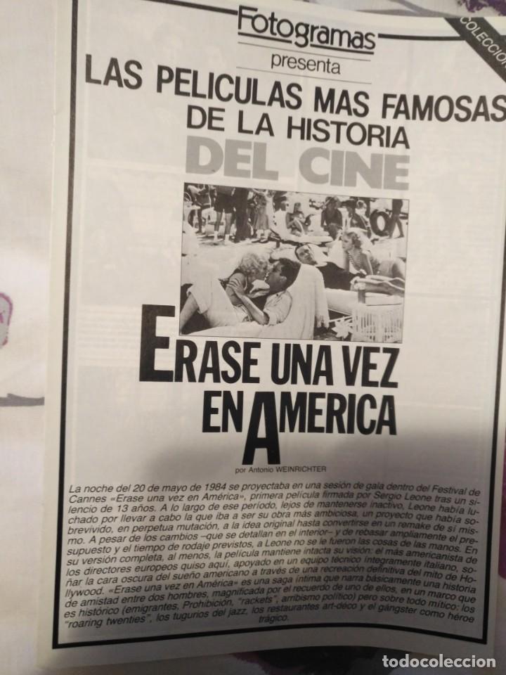 Cine: REVISTA DE CINE FOTOGRAMAS COLECCIONABLES 59 FASCICULOS LAS MEJORES PELICULAS-LAS PELI. MAS FAMOSAS - Foto 21 - 194956412