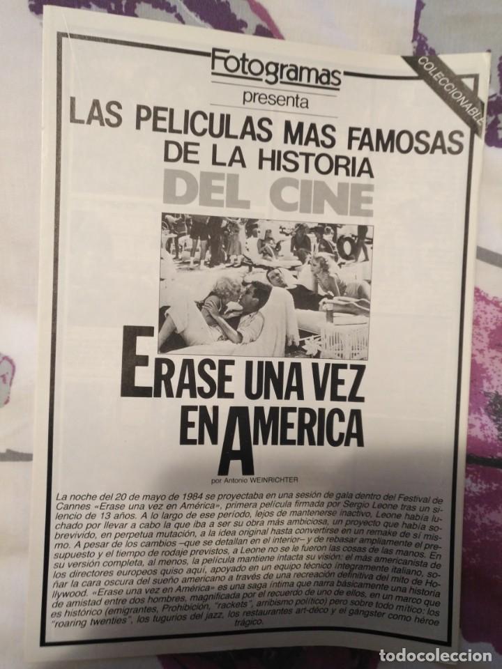 Cine: REVISTA DE CINE FOTOGRAMAS COLECCIONABLES 59 FASCICULOS LAS MEJORES PELICULAS-LAS PELI. MAS FAMOSAS - Foto 22 - 194956412