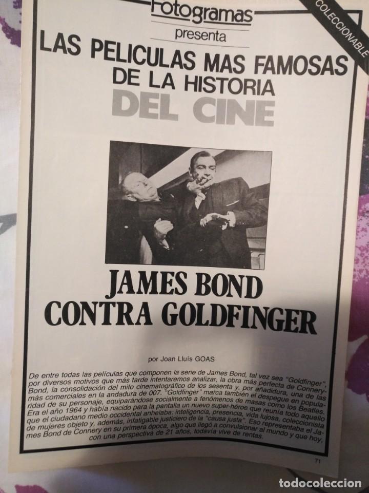 Cine: REVISTA DE CINE FOTOGRAMAS COLECCIONABLES 59 FASCICULOS LAS MEJORES PELICULAS-LAS PELI. MAS FAMOSAS - Foto 25 - 194956412