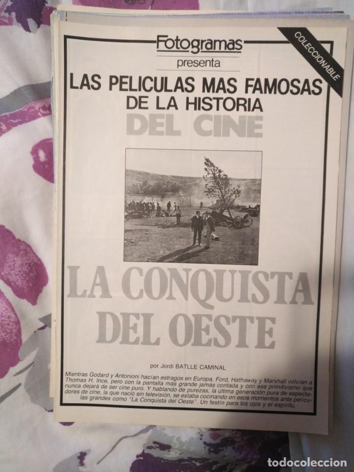 Cine: REVISTA DE CINE FOTOGRAMAS COLECCIONABLES 59 FASCICULOS LAS MEJORES PELICULAS-LAS PELI. MAS FAMOSAS - Foto 27 - 194956412