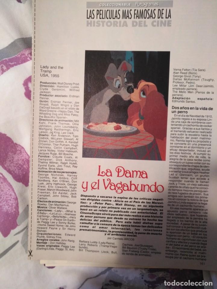 Cine: REVISTA DE CINE FOTOGRAMAS COLECCIONABLES 59 FASCICULOS LAS MEJORES PELICULAS-LAS PELI. MAS FAMOSAS - Foto 28 - 194956412