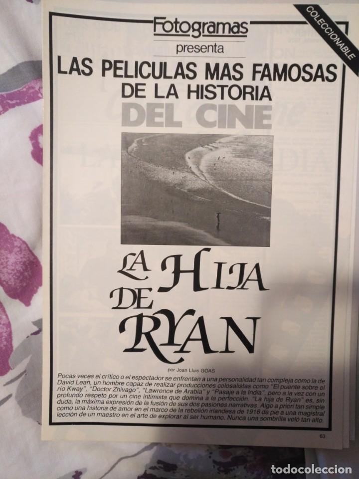 Cine: REVISTA DE CINE FOTOGRAMAS COLECCIONABLES 59 FASCICULOS LAS MEJORES PELICULAS-LAS PELI. MAS FAMOSAS - Foto 30 - 194956412