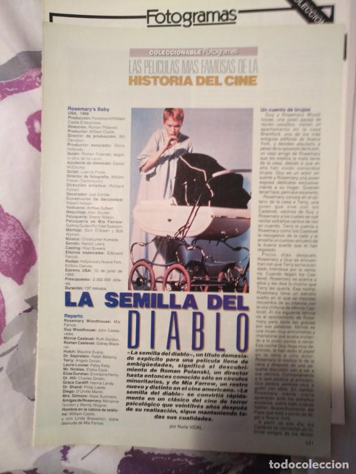 Cine: REVISTA DE CINE FOTOGRAMAS COLECCIONABLES 59 FASCICULOS LAS MEJORES PELICULAS-LAS PELI. MAS FAMOSAS - Foto 34 - 194956412