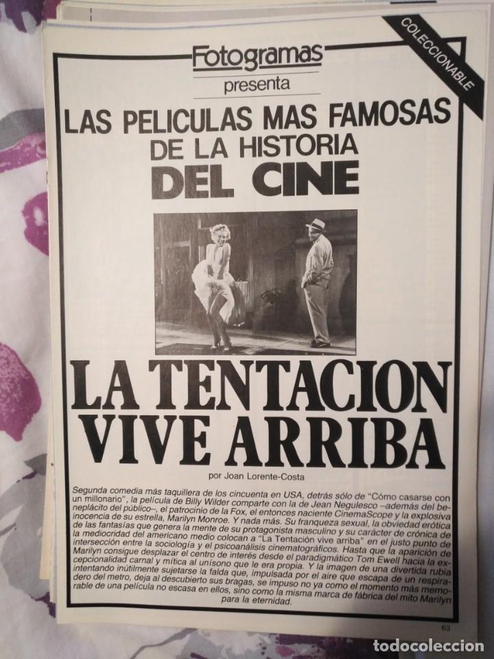 Cine: REVISTA DE CINE FOTOGRAMAS COLECCIONABLES 59 FASCICULOS LAS MEJORES PELICULAS-LAS PELI. MAS FAMOSAS - Foto 35 - 194956412