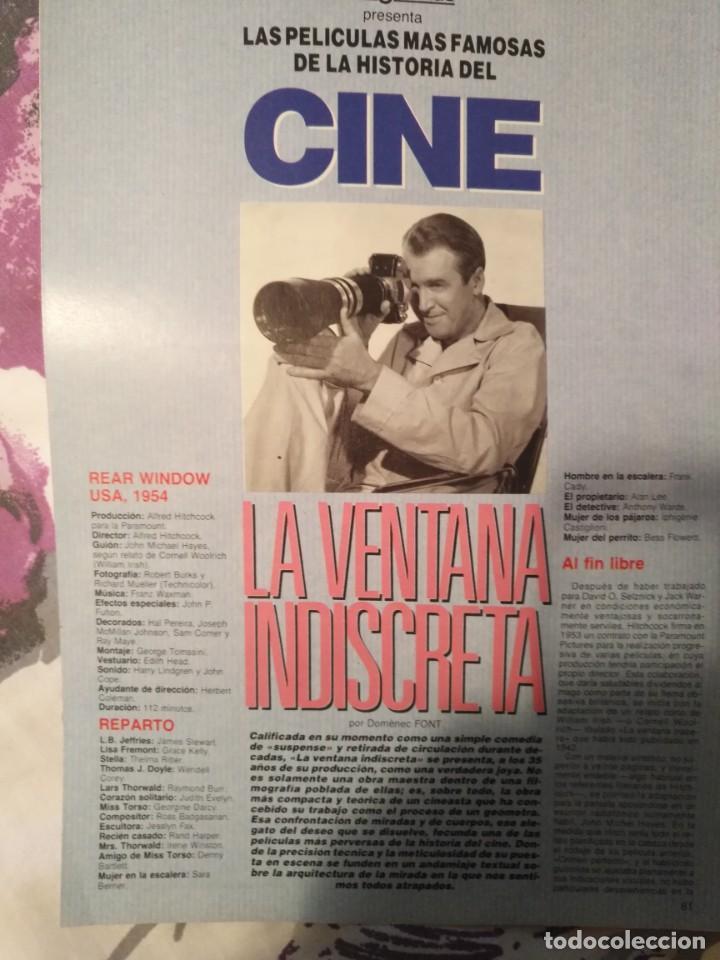 Cine: REVISTA DE CINE FOTOGRAMAS COLECCIONABLES 59 FASCICULOS LAS MEJORES PELICULAS-LAS PELI. MAS FAMOSAS - Foto 36 - 194956412