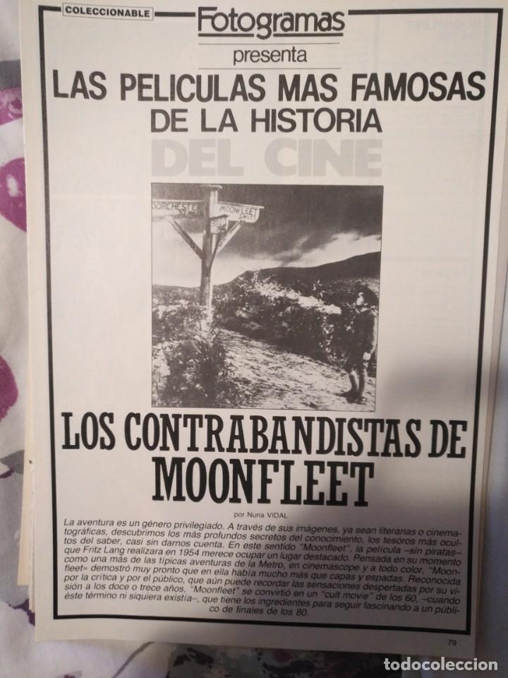Cine: REVISTA DE CINE FOTOGRAMAS COLECCIONABLES 59 FASCICULOS LAS MEJORES PELICULAS-LAS PELI. MAS FAMOSAS - Foto 37 - 194956412