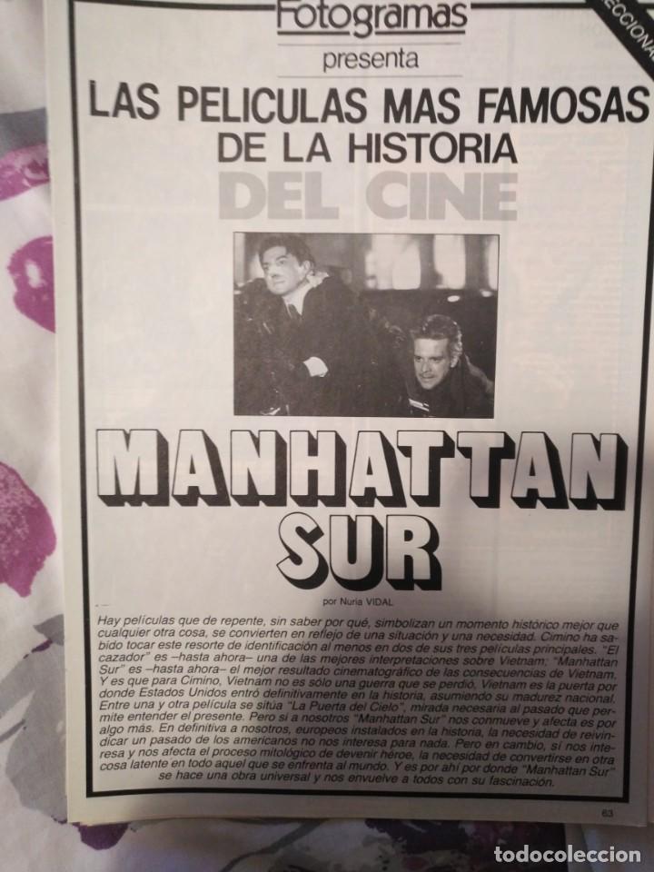 Cine: REVISTA DE CINE FOTOGRAMAS COLECCIONABLES 59 FASCICULOS LAS MEJORES PELICULAS-LAS PELI. MAS FAMOSAS - Foto 39 - 194956412
