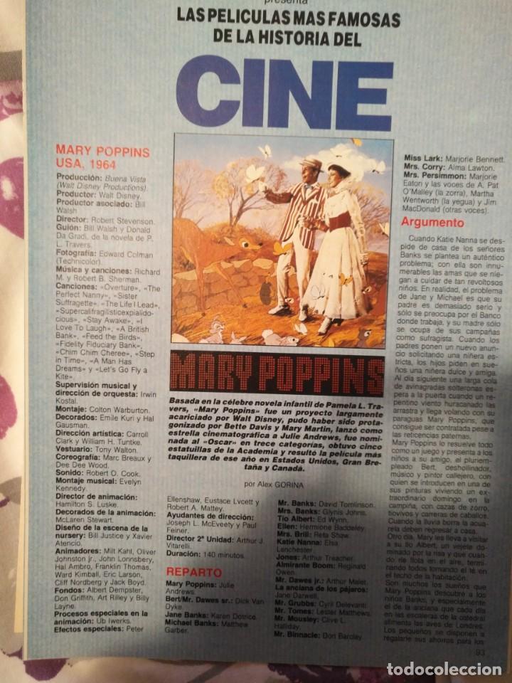 Cine: REVISTA DE CINE FOTOGRAMAS COLECCIONABLES 59 FASCICULOS LAS MEJORES PELICULAS-LAS PELI. MAS FAMOSAS - Foto 41 - 194956412