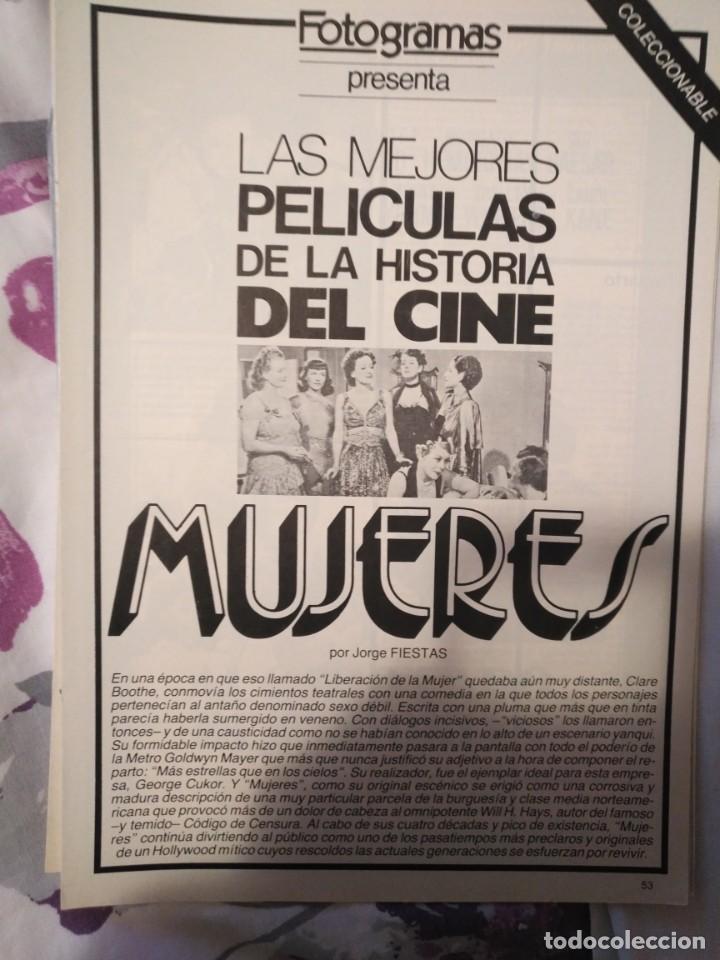 Cine: REVISTA DE CINE FOTOGRAMAS COLECCIONABLES 59 FASCICULOS LAS MEJORES PELICULAS-LAS PELI. MAS FAMOSAS - Foto 42 - 194956412