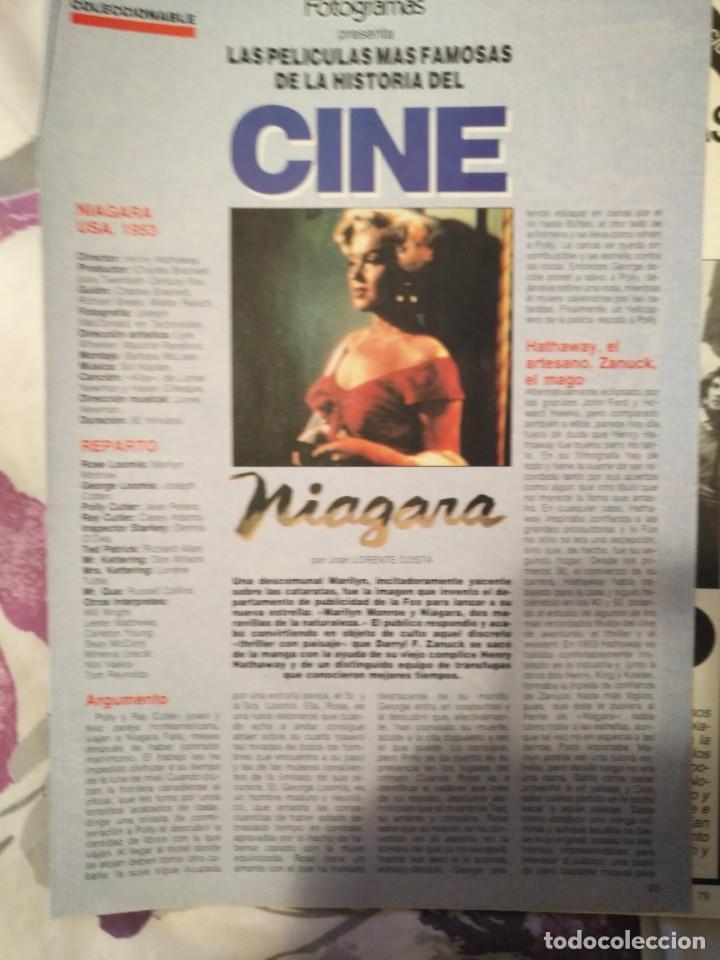 Cine: REVISTA DE CINE FOTOGRAMAS COLECCIONABLES 59 FASCICULOS LAS MEJORES PELICULAS-LAS PELI. MAS FAMOSAS - Foto 44 - 194956412