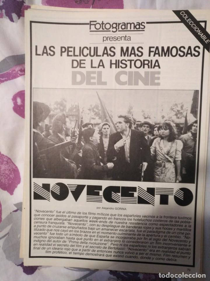 Cine: REVISTA DE CINE FOTOGRAMAS COLECCIONABLES 59 FASCICULOS LAS MEJORES PELICULAS-LAS PELI. MAS FAMOSAS - Foto 45 - 194956412