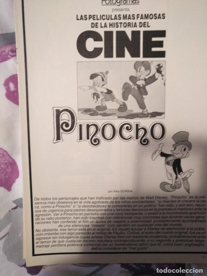 Cine: REVISTA DE CINE FOTOGRAMAS COLECCIONABLES 59 FASCICULOS LAS MEJORES PELICULAS-LAS PELI. MAS FAMOSAS - Foto 46 - 194956412