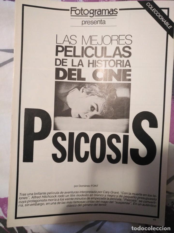 Cine: REVISTA DE CINE FOTOGRAMAS COLECCIONABLES 59 FASCICULOS LAS MEJORES PELICULAS-LAS PELI. MAS FAMOSAS - Foto 47 - 194956412
