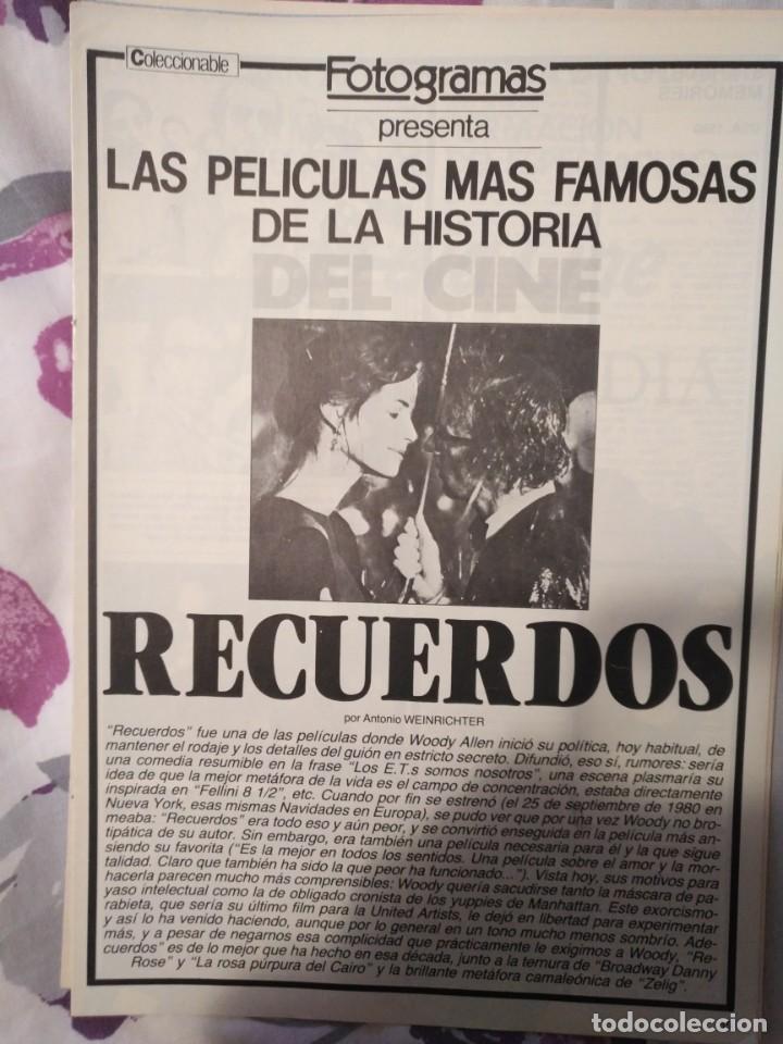Cine: REVISTA DE CINE FOTOGRAMAS COLECCIONABLES 59 FASCICULOS LAS MEJORES PELICULAS-LAS PELI. MAS FAMOSAS - Foto 49 - 194956412