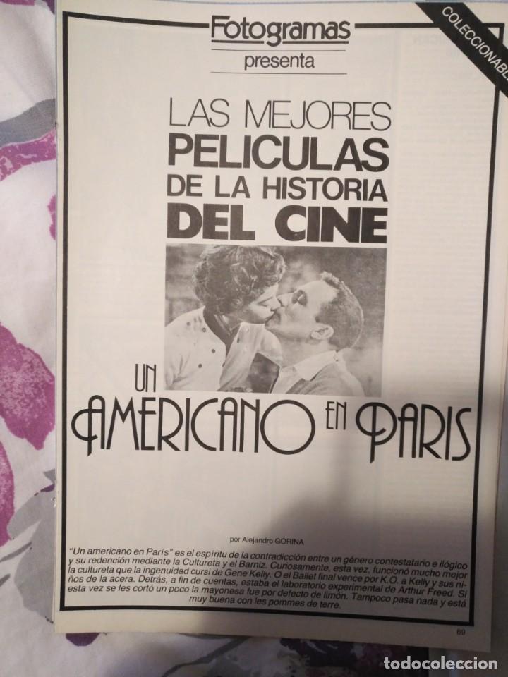 Cine: REVISTA DE CINE FOTOGRAMAS COLECCIONABLES 59 FASCICULOS LAS MEJORES PELICULAS-LAS PELI. MAS FAMOSAS - Foto 52 - 194956412