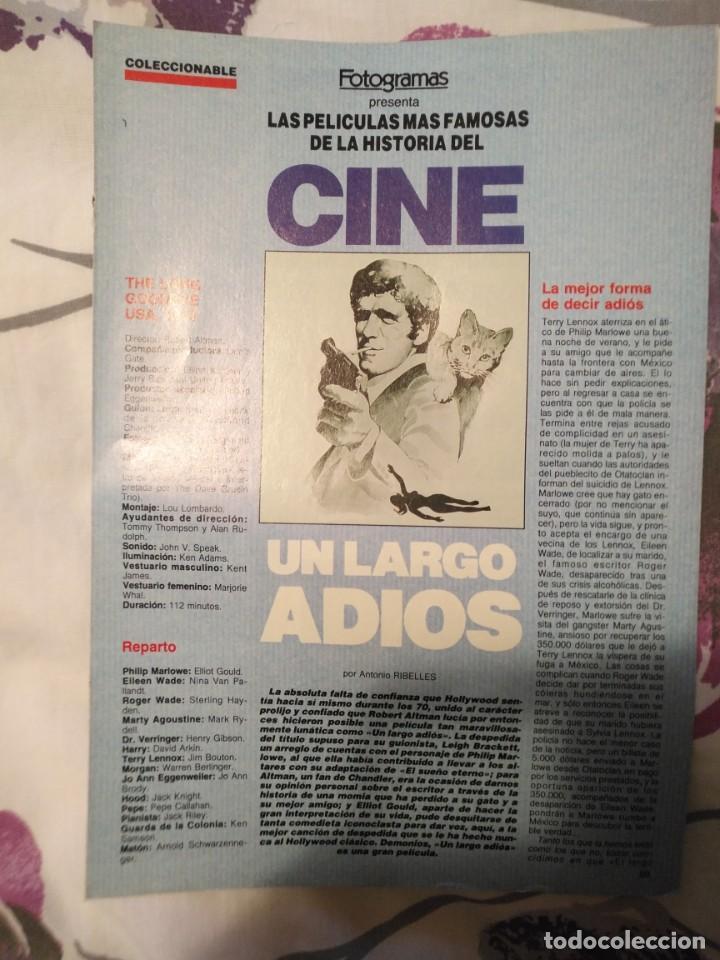 Cine: REVISTA DE CINE FOTOGRAMAS COLECCIONABLES 59 FASCICULOS LAS MEJORES PELICULAS-LAS PELI. MAS FAMOSAS - Foto 53 - 194956412