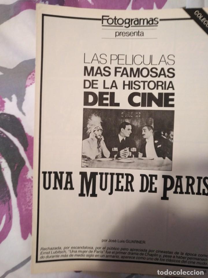 Cine: REVISTA DE CINE FOTOGRAMAS COLECCIONABLES 59 FASCICULOS LAS MEJORES PELICULAS-LAS PELI. MAS FAMOSAS - Foto 54 - 194956412