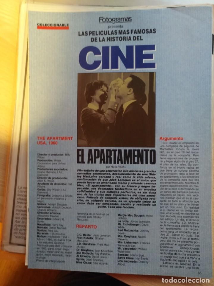 Cine: REVISTA DE CINE FOTOGRAMAS COLECCIONABLES 59 FASCICULOS LAS MEJORES PELICULAS-LAS PELI. MAS FAMOSAS - Foto 56 - 194956412