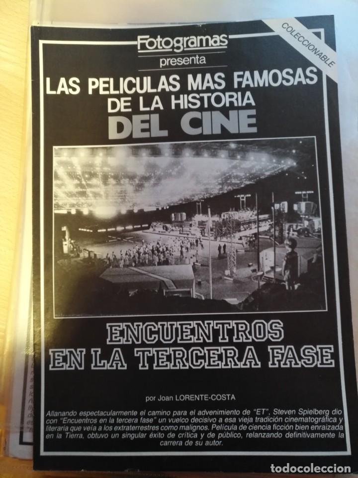 Cine: REVISTA DE CINE FOTOGRAMAS COLECCIONABLES 59 FASCICULOS LAS MEJORES PELICULAS-LAS PELI. MAS FAMOSAS - Foto 59 - 194956412