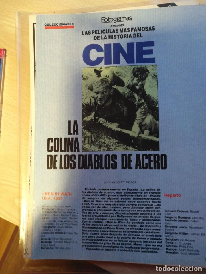 Cine: REVISTA DE CINE FOTOGRAMAS COLECCIONABLES 59 FASCICULOS LAS MEJORES PELICULAS-LAS PELI. MAS FAMOSAS - Foto 61 - 194956412