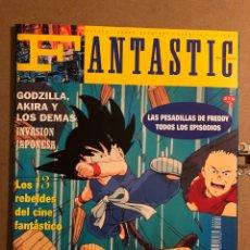 Cinema: FANTASTIC MAGAZINE N° 4 (1992). DRAGÓN BALL ZZ, PESADILLA DE FREDDY, GODZILLA, AKIRA,.... Lote 194972137